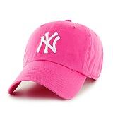 [엠엘비]MLB - 47브랜드 MLB모자 뉴욕 양키즈 마젠타_야구모자 볼캡 캡모자 모자