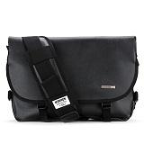 [핍스] PEEPS essential messenger bag(SL_black) 메신져백 메신저백 메신져 메신저 가죽 가죽메신져백