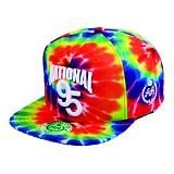 [더블에이에이피티드]DOUBLEAAFITTED - All Tiedye NATIONAL95 Logo cap 스냅백