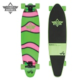 [DUSTERS] 38 DEMO GITD GREEN/PINK LONGBOARD