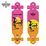 [DUSTERS] 38 ENDLESS SUMMER WAKE YEL/ORNG/PNK LONGBOARD