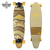 [DUSTERS] 38 DEMO CAMO EVA SOFT TOP LONGBOARD