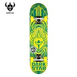 [DARKSTAR] 다크스타 - SCOUR X FP V.2 X BLUE/YELLOW/GITD X COMPLETE MINI 7.0 (미니사이즈) 스케이트보드