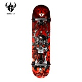 [DARKSTAR] 다크스타 - GRIME RED COMPLETE 7.6 (풀사이즈) 스케이트보드