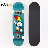 [ENJOI] CARTOON PANDA GREEN STANDARD COMPLETE 8.0