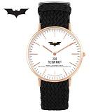 [디씨코믹스] 배트맨 위빙스트랩밴드 DC0080-RGWK 본사정품 시계 나토시계