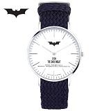 [디씨코믹스] 배트맨 위빙스트랩밴드 DC0080-SVWS 본사정품 시계 나토시계
