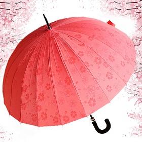 [포레스트레이크] Forest Lake - 파스텔 벚꽃 장 우산 5color