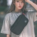 [스타일플랜] STYLEPLAN SQUARE VER02 WAIST BAG (BLACK) 힙색 웨이스트백 가방 hipsack