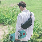 [스타일플랜] STYLEPLAN PAUL WAIST BAG (BLACK) 힙색 웨이스트백 가방 hipsack