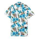 [세븐틴스] SEVENTEENTH HAWAIIAN FLORAL SHIRTS - BLUE 하와이안셔츠