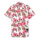 [세븐틴스] SEVENTEENTH HAWAIIAN FLORAL SHIRTS - PINK 하와이안셔츠