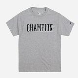 [챔피온]Champion - CREW NECK 1/2 T-SHIRT CHAMPION (GREY) 반팔티 정품 국내배송