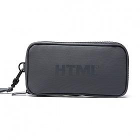 [에이치티엠엘]HTML - A5 pouch (DARK GRAY) 가방 파우치 파우치가방