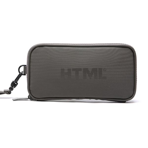 #클리어런스 [에이치티엠엘]HTML - A5 pouch (CHARCOAL) 가방 파우치 파우치가방