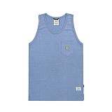 STIGMA - SMILE POCKET SLEEVELESS BLUE 나시티_민소매 티셔츠 블루