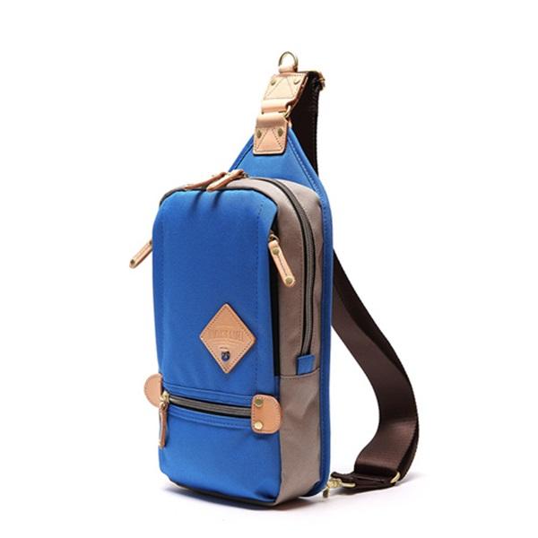 ※[하베스트라벨]HARVEST LABEL - TWO-TONE SLING PACK HFC-9006 (Blue) 투톤 슬링백 국내당일발송