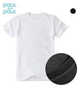 폴앤폴 - 레귤러 슬림 롱 반팔1+1 (남여공용)_반팔티 티셔츠