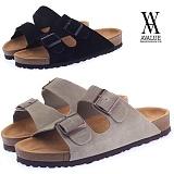 [에이벨류]avalue-UNISEX 294 ta-u-fe2 slipper_3.5cm(2종)-커플 캐주얼 스웨이드 타우페2 슬리퍼 샌달 여름 신발