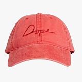 [도프]DOPE Tonal Script Cap (RED) 볼캡 야구모자