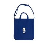 [키토스] kiitos - TALK CROSSBODY- BLUE_캔버스 크로스백 가방 블루