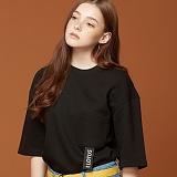 [제이아셀] JEASHER - POINT POCKET (BK)_포인트 포켓 반팔티 티셔츠 블랙