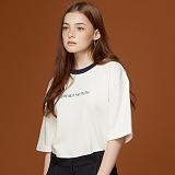 [제이아셀]jeasher - UNISEX MATILDA (WH)_반팔티 티셔츠 화이트