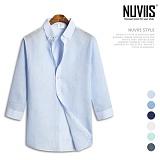 뉴비스 - 파스텔 린넨 7부셔츠 (MS029SH) 셔츠 남방 7부남방 린넨셔츠