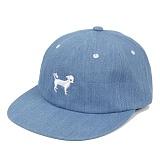 [위티나트]WxA - SNAPDOG 6-Panel CAP (washed denim) 볼캡 모자 야구모자 패널캡 캡모자
