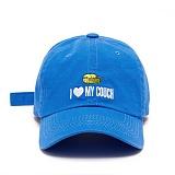 [슬리피슬립]SLEEPYSLIP - [unisex]I LOVE MY COUCH BLUE BALL CAP 아이 러브 마이 카우치 볼캡 야구모자
