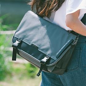 [에이치티엠엘]HTML - Muscle L7 Messenger Bag (BLACK/GRAY) 가방 메신져 메신저 메신져백 메신저백