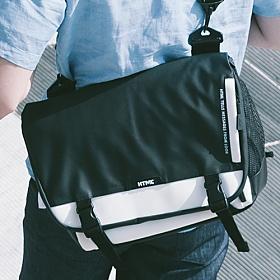 [에이치티엠엘]HTML - Muscle L7 Messenger Bag (BLACK/WHITE) 가방 메신져 메신저 메신져백 메신저백