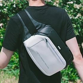 [에이치티엠엘]HTML - Muscle L5 Waist Bag (BLACK/WHITE) 가방 웨이스트백 힙색