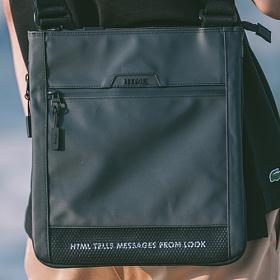 [에이치티엠엘]HTML - Muscle L2 Cross Bag (BLACK) 가방 크로스백