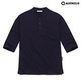 [앨빈클로]ALVINCLO  AST-3236n 시원한 헨리넥 7부티셔츠 반팔 반팔티 티셔츠