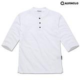 [앨빈클로]ALVINCLO  AST-3236W 시원한 헨리넥 7부티셔츠 반팔 반팔티 티셔츠
