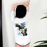 [단독판매][디어가든]DEAR GARDEN - GA-004 BEYOND GREEN 반팔 반팔티 티셔츠