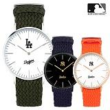 [MLB] 엠엘비 슬림 위빙스트랩밴드 MLB3040 시리즈 본사정품_시계