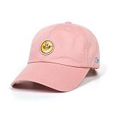 STIGMA - SMILE BASEBALL CAP PINK_야구모자_모자