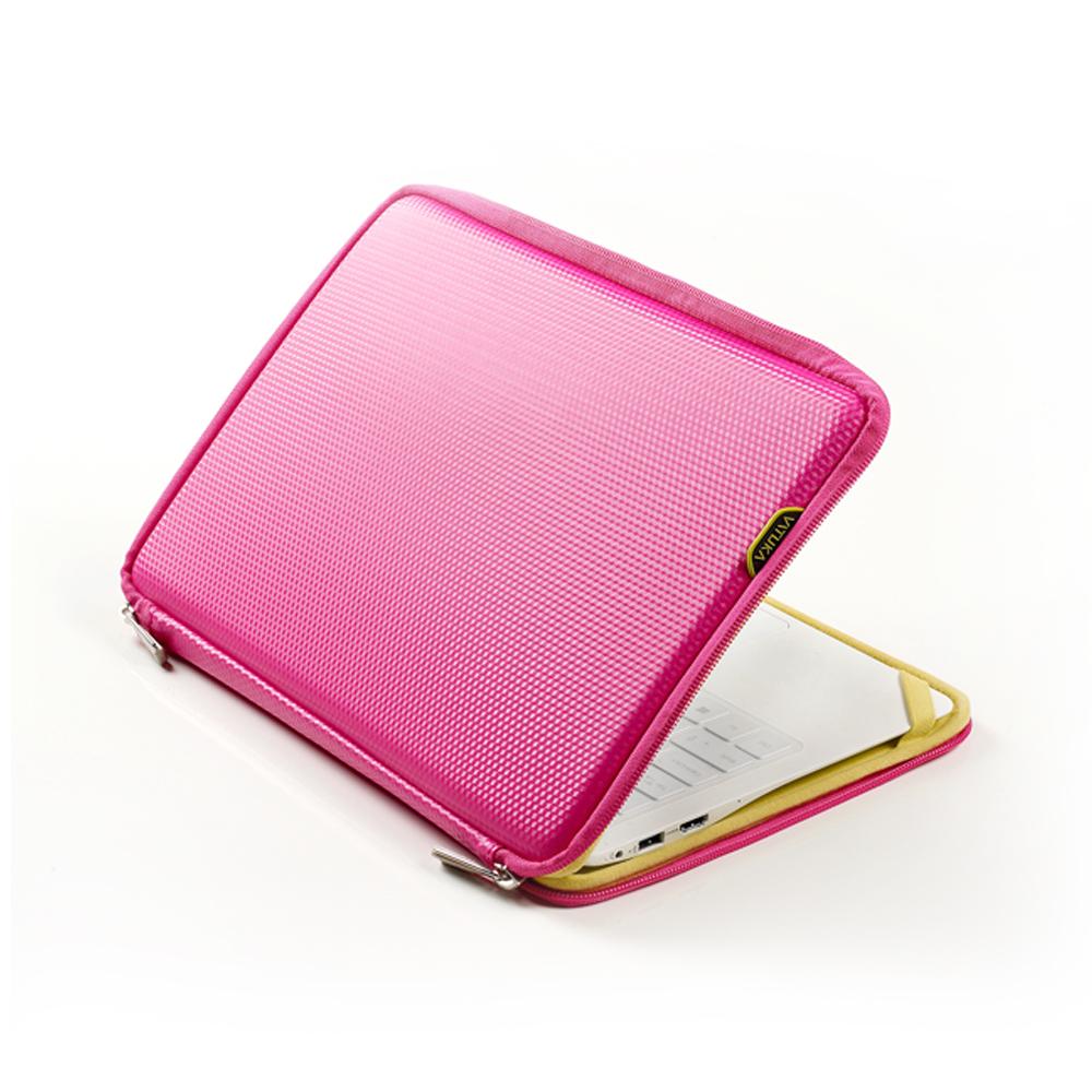 [바투카]VATUKA - 3D큐브 맥북프로 레티나 노트북 파우치 15.4인치 - HOT PINK
