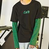 [꼬미엔조] COMIENZO COMI long sleeves T-SHIRT (BLACK_G)_긴팔티 긴팔 팔긴 롱슬리브