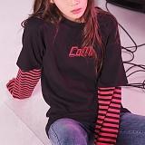[꼬미엔조] COMIENZO COMI long sleeves T-SHIRT (BLACK_P)_긴팔티 긴팔 팔긴 롱슬리브