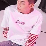 [꼬미엔조] COMIENZO COMI long sleeves T-SHIRT (WHITE_R)_긴팔티 긴팔 팔긴 롱슬리브