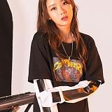 [꼬미엔조] COMIENZO GOODMUSIC long sleeves T-SHIRT (BLACK_W)_긴팔티 긴팔 팔긴 롱슬리브