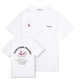 [어나더프레임] ANOTHER FRAME - CHRRY YUM T-SHIRT (WHITE) 반팔티 반팔 티셔츠
