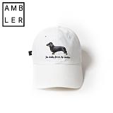 [엠블러]AMBLER 신상 볼캡(ball Cap) 야구모자 AH101-화이트
