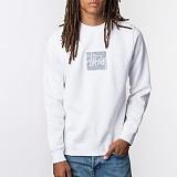 [스투시]STUSSY - REFLECTIVE CREW 118178 (WHITE) 3M 로고 스카치 맨투맨