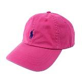 [폴로]POLO 폴로랄프로렌 말자수 로고 모자 (핑크) 볼캡 PL_CAPPK 정품