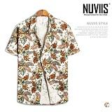 [뉴비스] NUVIIS - 마로니에 하와이안 반팔셔츠 (RG003SH)