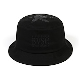 STIGMA - BVSC BUCKET HAT BLACK_벙거지_모자_버킷햇